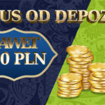 PROMOCJA: Bonus 100% od depozytu! Aż do 300 PLN