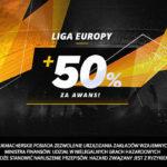 LV BET – 50% więcej za awans polskich drużyn