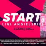Start Premier League w LV BET – 500 PLN dla Was!