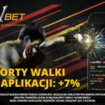Sporty walki w Aplikacji: +7%