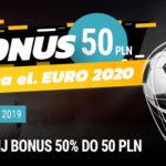 Totolotek – 50% do 50 PLN na eliminacje EURO 2020